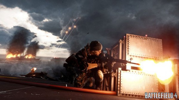 Da quest'immagine vi sembra che l'atmosfera del Single Player di Battlefield 4 sia stimolante? Le apparenze ingannano...