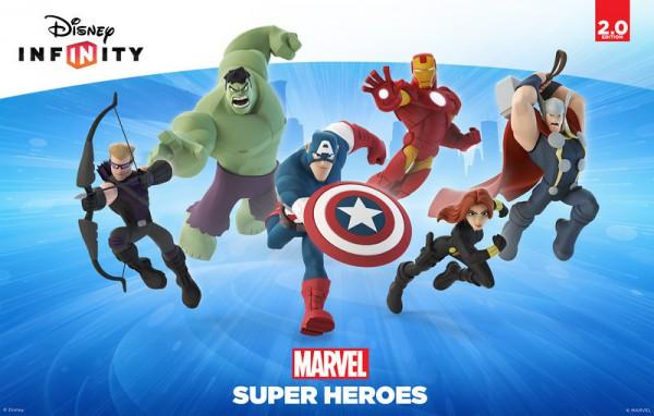 La più grande novità introdotta da Disney Infinity 2.0 è il crossover con il mondo Marvel