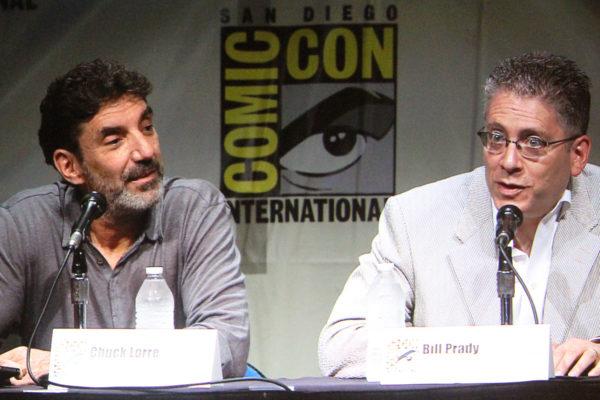 I creatori della serie, Chuck Lorre e Bill Prady