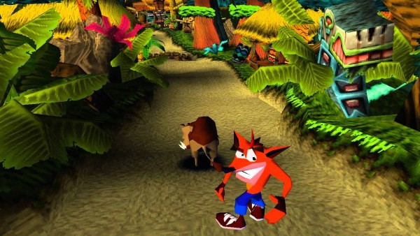 Crash-bandicoot-Playstation 4 salto doppio