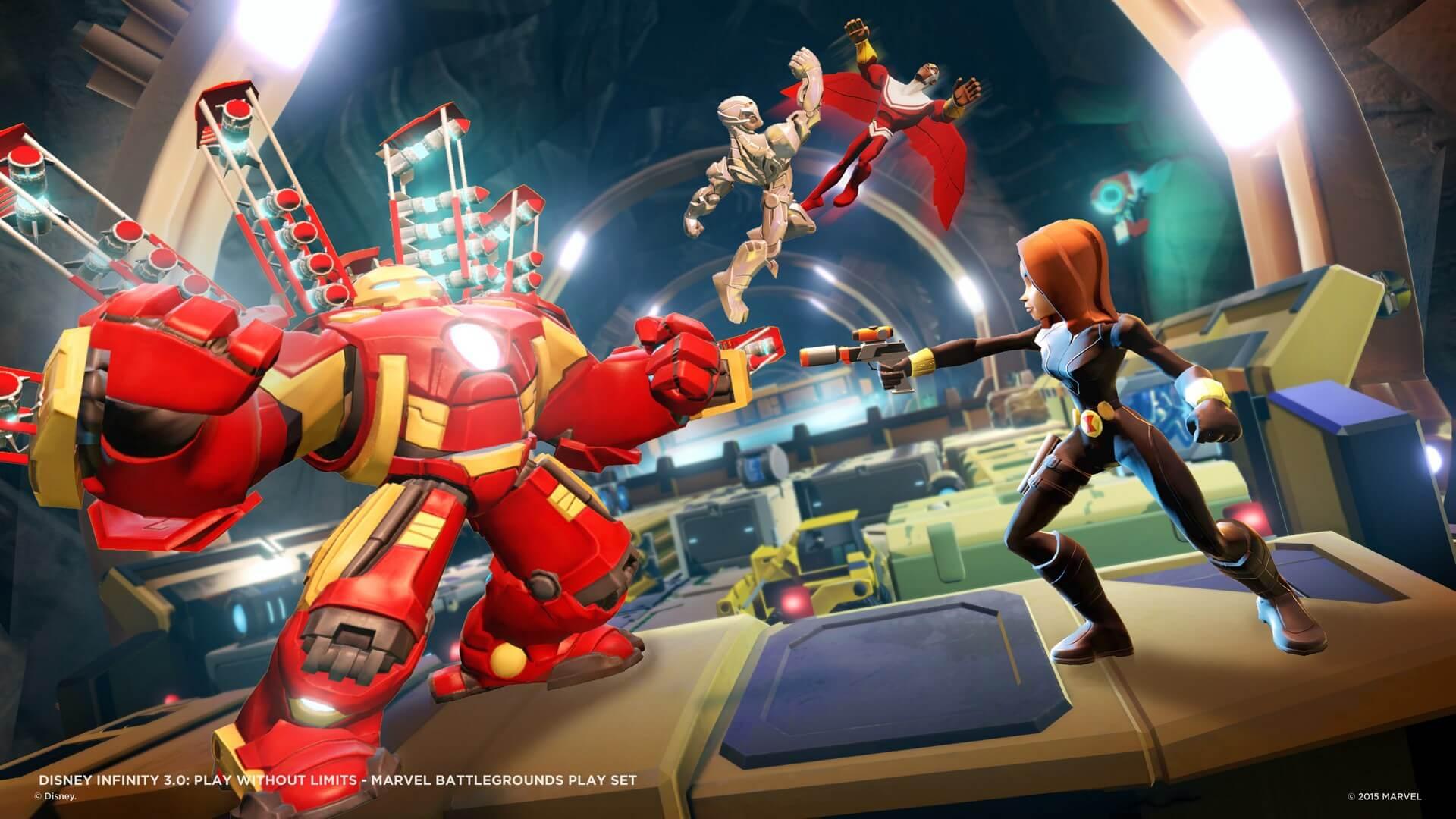 Disney Infinity 3 0 Marvel Battlegrounds Recensione