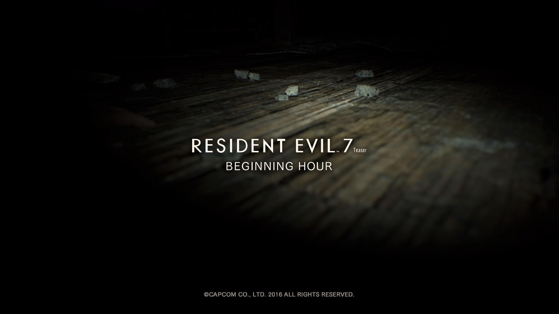 La demo di Resident Evil 7 si aggiorna con nuovi contenuti