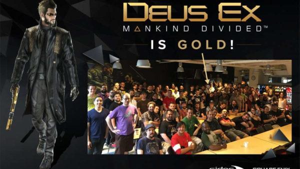 Deus Ex: Mankind Divided finalmente in fase Gold