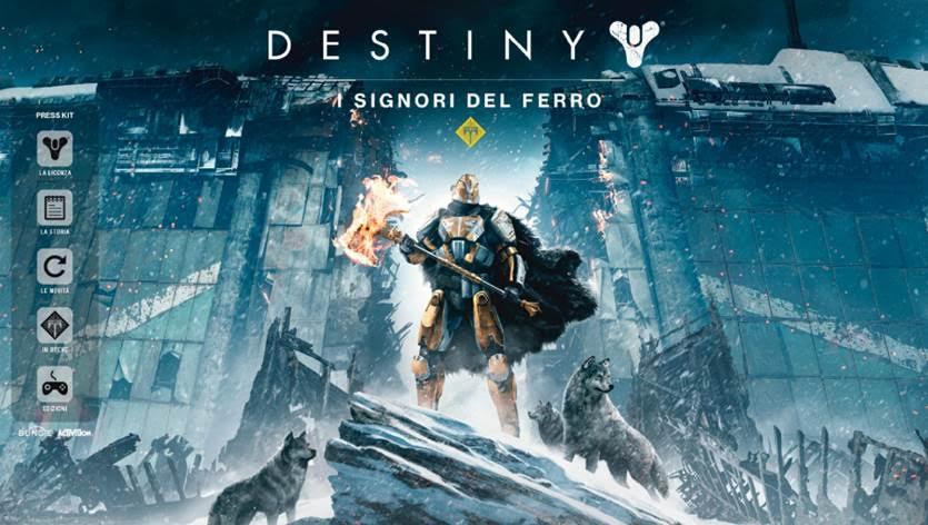 Disponibile la colonna sonora di Destiny I Signori del Ferro