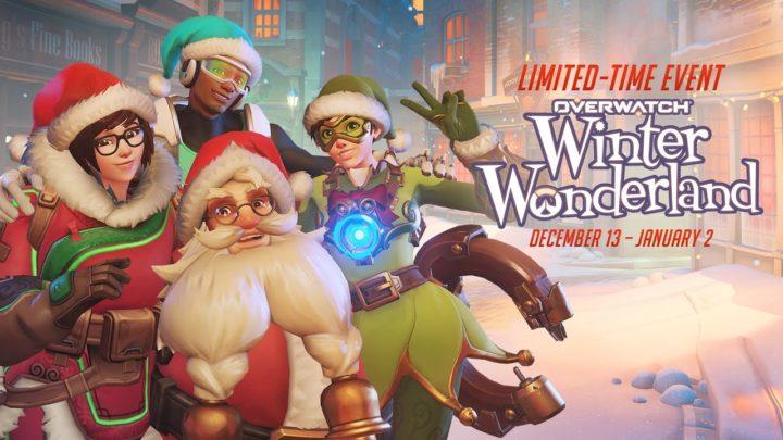 Overwatch si tinge di Natale