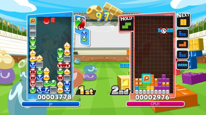 Migliora le tue abilità in Puyo Puyo Tetris