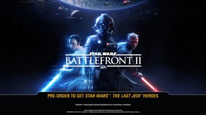 Star Wars Battlefront II: primo trailer ufficiale