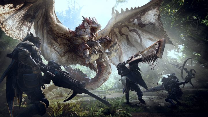 Monster Hunter World annunciato all'E3 2017, in arrivo nel 2018