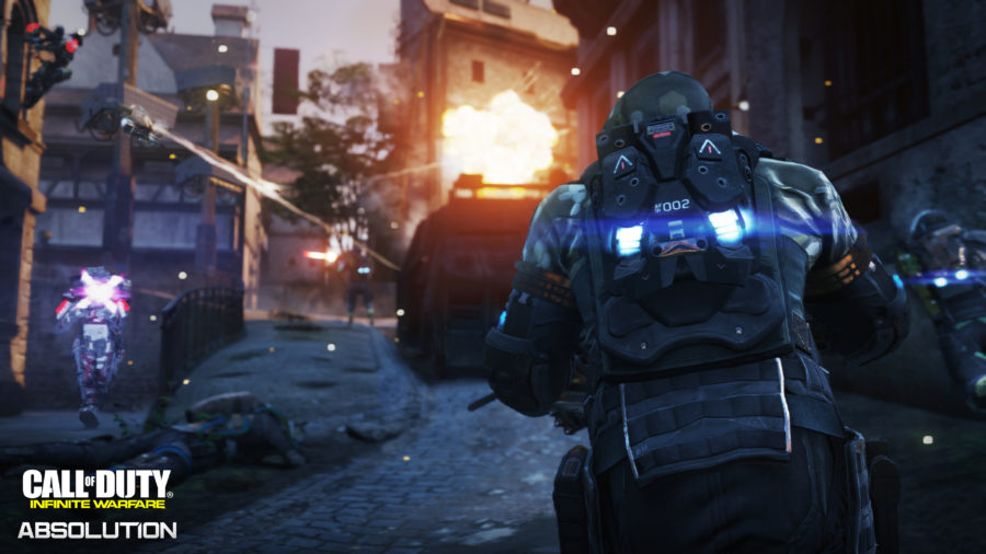 Call of Duty: Infinte Warfare Absolution è su PS4
