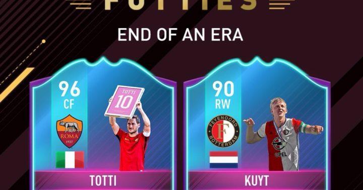 FIFA 17: Francesco Totti si aggiudica una carta speciale dedicata alla carriera