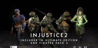 injustice 2 fighter pack 3 tartarughe ninja