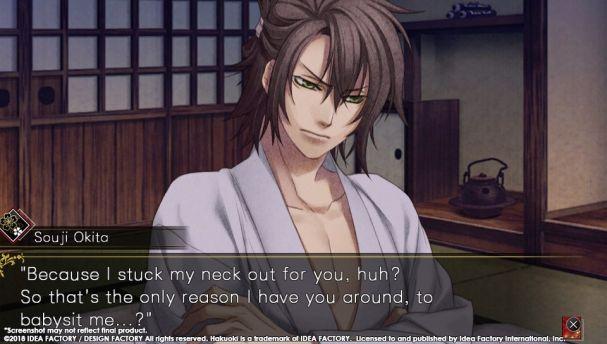 Nuovi screenshot per Hakuoki: Edo Blossoms
