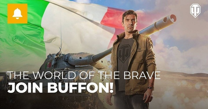 Buffon nuovo testimonial di World of Tanks, guiderà i carri italiani