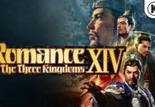 romance of the three kingdoms XIV logo