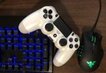 mouse e tastiera PS4
