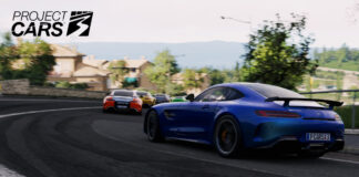 Mercedes AMGGTR Toscana Project CARS 3