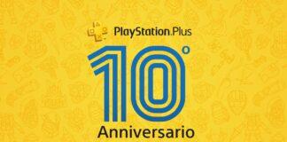 PlayStation Plus Decimo Anniversario