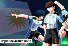 argentina junior youth captain tsubasa