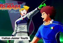 italy junior youth captain tsubasa