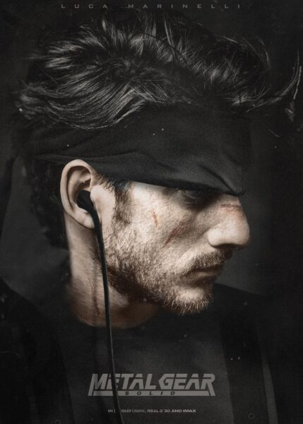 solid snake luca marinelli