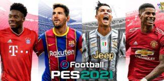 efootball pes 2021 copertina
