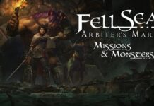 fell seal missions and monsters