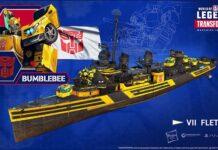 world of warships legends transformers