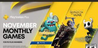 PlayStation Plus Novembre 2020