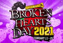 borderlands 3 broken hearts day 2021